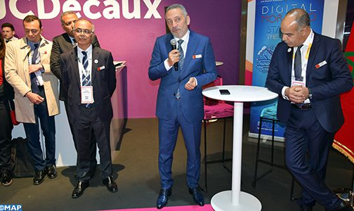 أنشطة مكثفة لوزير الصناعة والتجارة والاقتصاد الرقمي في معرض (فيفا –تيك) بباريس