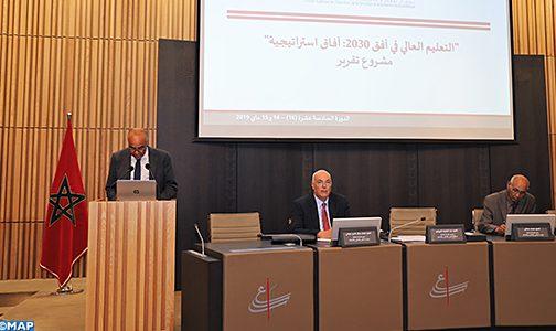 المجلس الأعلى للتربية والتكوين والبحث العلمي يوصي بسلسلة من الإجراءات الرامية إلى تجويد التعليم العالي بالمغرب