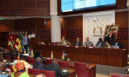 الاندماج الجهوي مدخل أساسي لتسريع وتيرة التنمية بالقارة الإفريقية (البرلمانيون الفرنكوفونيون الأفارقة)
