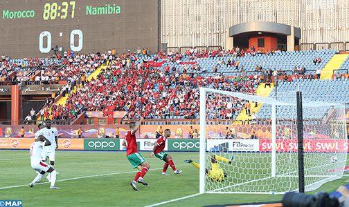 كأس أمم إفريقيا مصر طوطال 2019 (المجموعة الرابعة/الجولة الاولى) المغرب يفوز على ناميبيا 1-0