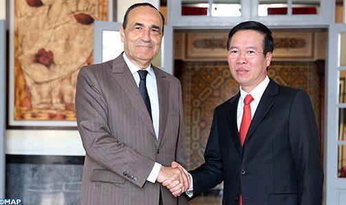 مباحثات مغربية – فيتنامية بالرباط حول سبل توطيد العلاقات البرلمانية والثنائية