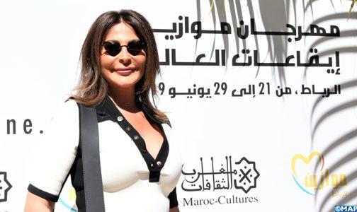 الفنانة إليسا: مهرجان موازين جسر لتجديد التواصل مع الجمهور المغربي