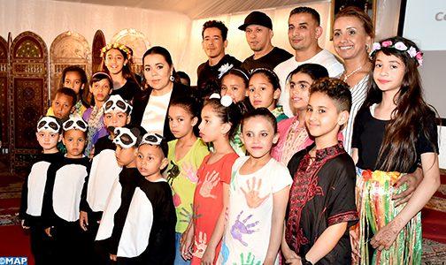 صاحبة السمو الملكي الأميرة للا أسماء تترأس حفل نهاية السنة الدراسية 2018 -2019 لمؤسسة للا أسماء للأطفال والشباب الصم
