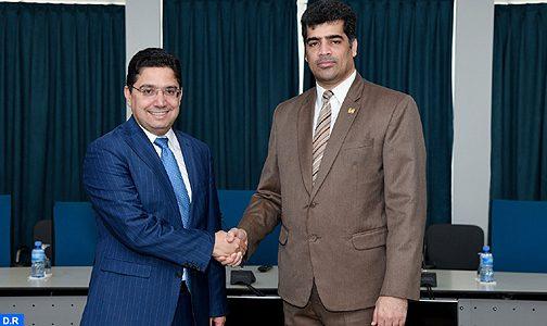 نائب رئيس جمهورية السورينام يستقبل السيد بوريطة