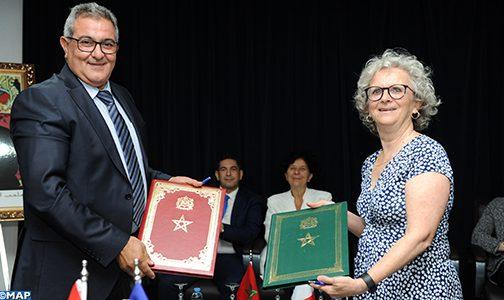 التوقيع على عدد من الاتفاقيات لتكثيف تبادل التجارب بين المغرب وفرنسا في مجال التعليم العالي والبحث العلمي