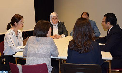 المغرب يستعرض بقمة ( باكت فور امباكت ) بباريس تجربته في مجال الاقتصاد الاجتماعي والتضامني ويستكشف آفاق الشراكة