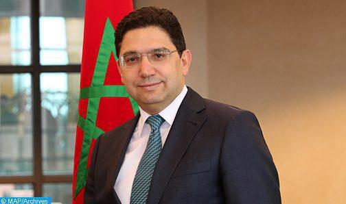 السيد ناصر بوريطة يقوم بزيارة عمل إلى الأردن من 19 إلى 21 يوليوز الجاري
