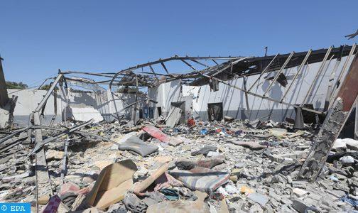 سبعة قتلى مغاربة وثلاثة في عداد المفقودين في القصف الذي طال مركز الهجرة غير النظامية بليبيا (قنصلية)