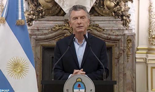 الأرجنتين .. الرئيس ماكري يعلن عن حزمة من الإجراءات الرامية إلى احتواء تداعيات انهيار قيمة العملة المحلية