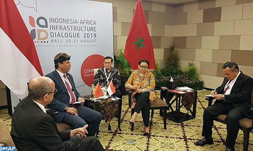 السيد اعمارة يشيد برغبة إندونيسيا في تطوير تعاونها الاقتصادي مع إفريقيا
