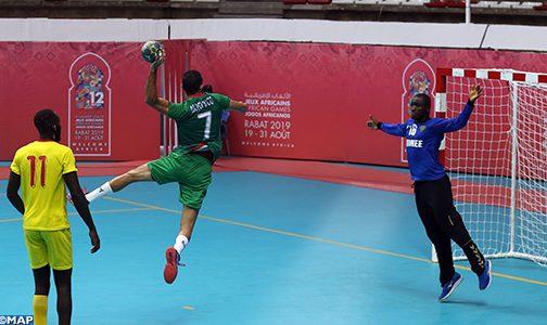 الألعاب الافريقية : (المجموعة الأولى /الجولة الثانية).. المنتخب المغربي لكرة اليد يتفوق على نظيره الغيني