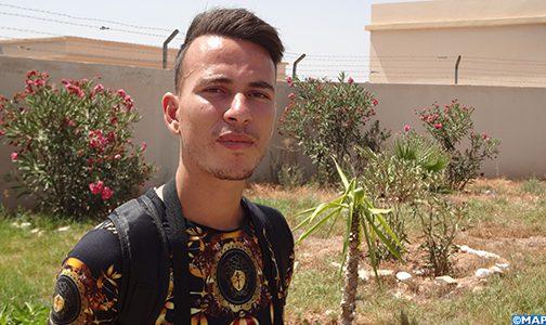 خالد بوشبل.. سعي حثيث نحو مستقبل أفضل عبر بوابة الخدمة العسكرية