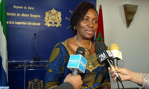 سيراليون تجدد التأكيد على دعمها الدائم للوحدة الترابية للمملكة المغربية وتنوه بالمبادرة المغربية للحكم الذاتي