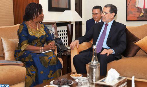 سيراليون ممتنة لدعم المغرب لها في العديد من المحطات التاريخية (وزيرة خارجية سيراليون)