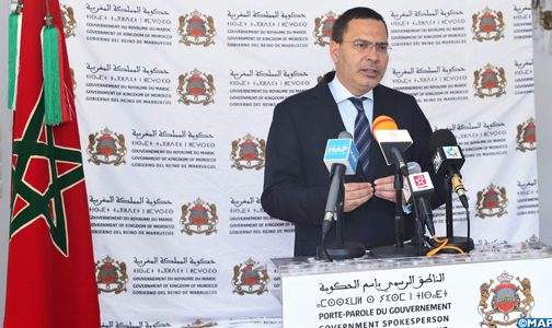 مجلس الحكومة يصادق على مشروع مرسوم بإحداث مديرية مؤقتة بوزارة التجهيز والنقل للإشراف على انجاز الميناء الجديد بأسفي