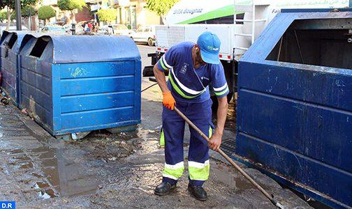 طنجة.. جمع أزيد من 7000 طن من النفايات خلال فترة عيد الأضحى