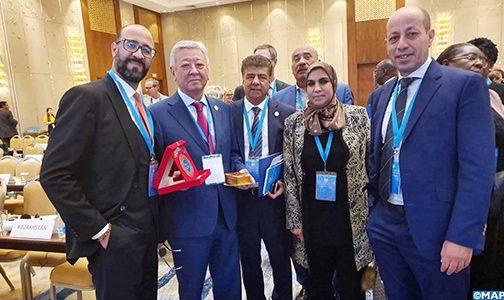 العاصمة الكازاخية: وفد من الودادية الحسنية للقضاة يشارك في المؤتمر العالمي ال 62 للقضاة