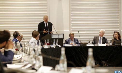 دومينيك دوفيليبان يُشَرح الجيوبوليك الدولي والرهانات العالمية في لقاء لمجلس التنمية والتضامن