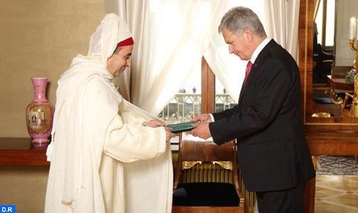 سفير المملكة بفنلندا يقدم أوراق اعتماده للرئيس ساولي نينيستو