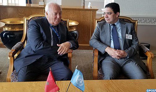 موراتينوس يعرب عن امتنانه لجلالة الملك لانعقاد القمة العالمية لتحالف الحضارات لسنة 2020 بالمغرب