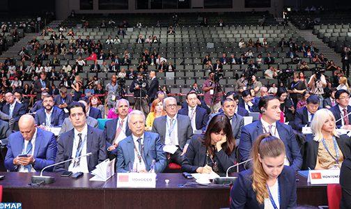 افتتاح الدورة الـ23 للجمعية العامة للمنظمة الدولية للسياحة بسان بترسبورغ بمشاركة المغرب
