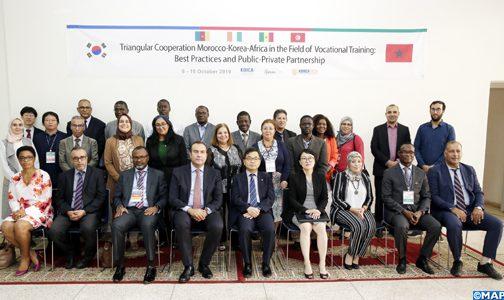 الدار البيضاء .. اختتام الدورة التكوينية الثانية للتعاون الثلاثي بين المغرب وكوريا الجنوبية وإفريقيا