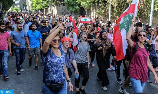 """""""تراكم الأزمات"""" سبب اندلاع الاحتجاجات في لبنان (وزير الخارجية)"""