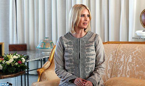 السيدة إيفانكا ترامب مستشارة الرئيس الأمريكي تحل بالمغرب