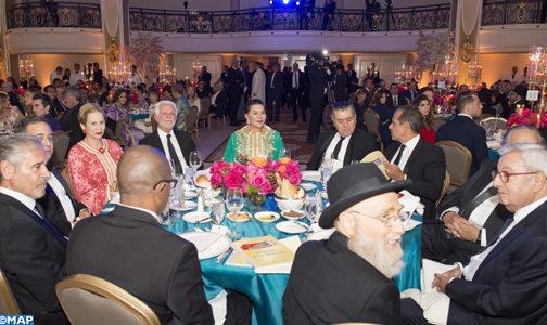 """صاحبة السمو الملكي الأميرة للا حسناء تترأس حفل عشاء بلوس أنجلس يحتفي بالدولة العلوية باعتبارها """"دولة تسامح"""""""