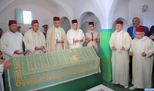 تسليم هبة ملكية لشرفاء زاوية الشريف محمد أمزيان بالناضور