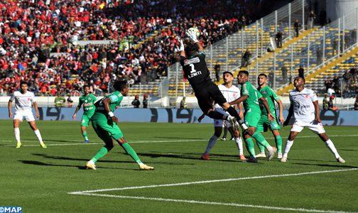 البطولة الوطنية الاحترافية: الرجاء يفوز على الوداد في الديربي البيضاوي ال127 (1-0)
