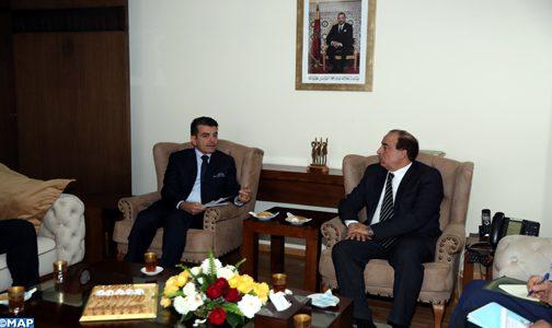 السيد عبيابة يبحث مع المدير العام للإيسيسكو سبل مساهمة المنظمة في تثمين التراث الثقافي للمملكة