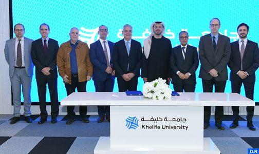 التوقيع على مذكرة تفاهم بين الوكالة المغربية للنجاعة الطاقية وجامعة خليفة للعلوم والتكنولوجيا بأبوظبي