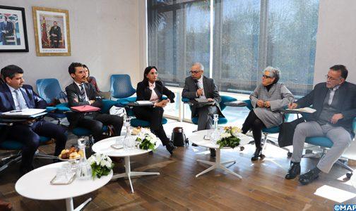 اللجنة الخاصة بالنموذج التنموي تعقد جلسة استماع لممثلي المجلس الوطني لحقوق الإنسان