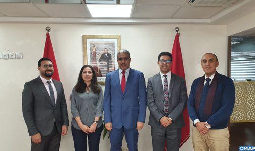 السيد رباح يدعو حكومة الشباب الموازية للعمل على تقديم الاقتراحات التي من شأنها النهوض بقطاع الطاقة والمعادن