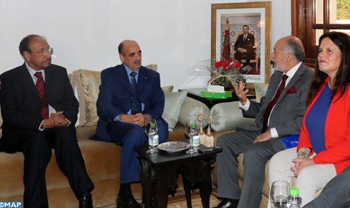 القضية الوطنية محور مباحثات بالرباط بين السيد ولد الرشيد ومسؤولين بكل من الشيلي وباناما