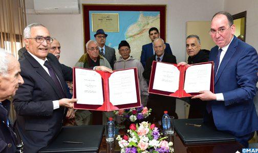 توقيع اتفاقية شراكة للنهوض بالتشغيل الذاتي في صفوف بنات وأبناء قدماء المقاومين وأعضاء جيش التحرير