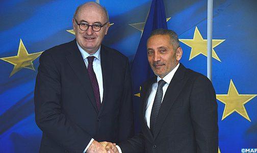 المغرب والاتحاد الأوروبي يعبران عن إرادتهما حيال المضي قدما في شراكتهما الاقتصادية والتجارية