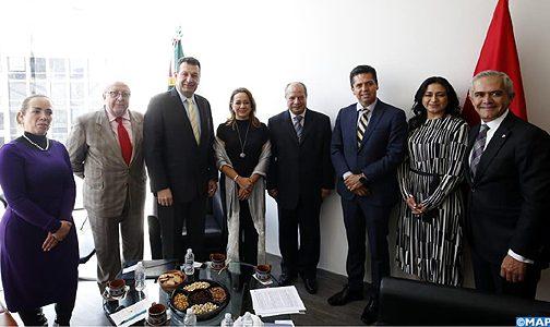 الرباط ومكسيكو تؤكدان إرادتهما المشتركة لتعزيز تعاونهما في المجال السياحي