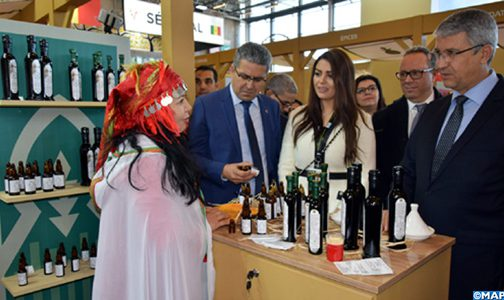 المنتوجات المجالية المغربية تبصم على حضور مميز في المعرض الدولي للفلاحة بباريس