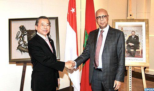 الافتتاح الرسمي للقنصلية الشرفية لسنغافورة في الدار البيضاء