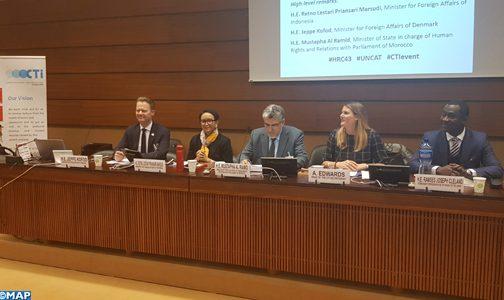 إبراز جهود المغرب في مجال مناهضة التعذيب في جنيف