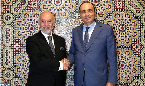 السيد المالكي يثمن المنحى التصاعدي للعلاقات بين المؤسستين التشريعيتين المغربية والشيلية