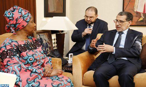 السيد العثماني: المغرب منخرط في تحسين أوضاع النساء وتحقيق أهداف هيئة الأمم المتحدة للمرأة