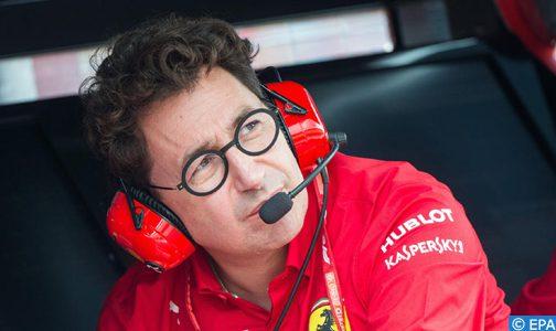 فورمولا وان.. مدير فيراري يتوقع أن يختتم الموسم في مطلع 2021