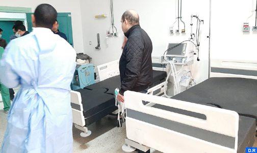 كوفيد 19: المجمع الشريف للفوسفاط يشرف على تأهيل أربع مستشفيات بإقليم خريبكة.