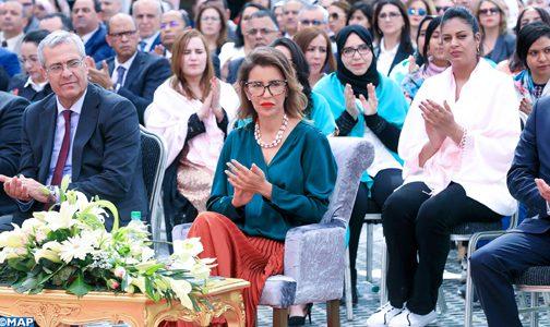 صاحبة السمو الملكي الأميرة للا مريم تترأس بمراكش مراسم الاحتفال باليوم العالمي للمرأة