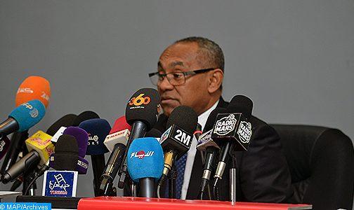 رئيس (الكاف) يؤكد أن بطولة أمم إفريقيا 2023 ستقام في موعدها