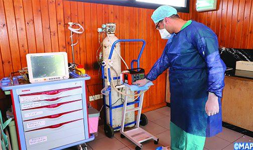 المستشفى العسكري الدراسي محمد الخامس بالرباط يعزز البنيات الاستشفائية بالمملكة لمواجهة فيروس (كوفيد-19)