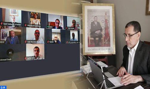 جائحة كورونا.. مشاورات بين الحكومة والمهنيين حول استئناف الأنشطة التجارية